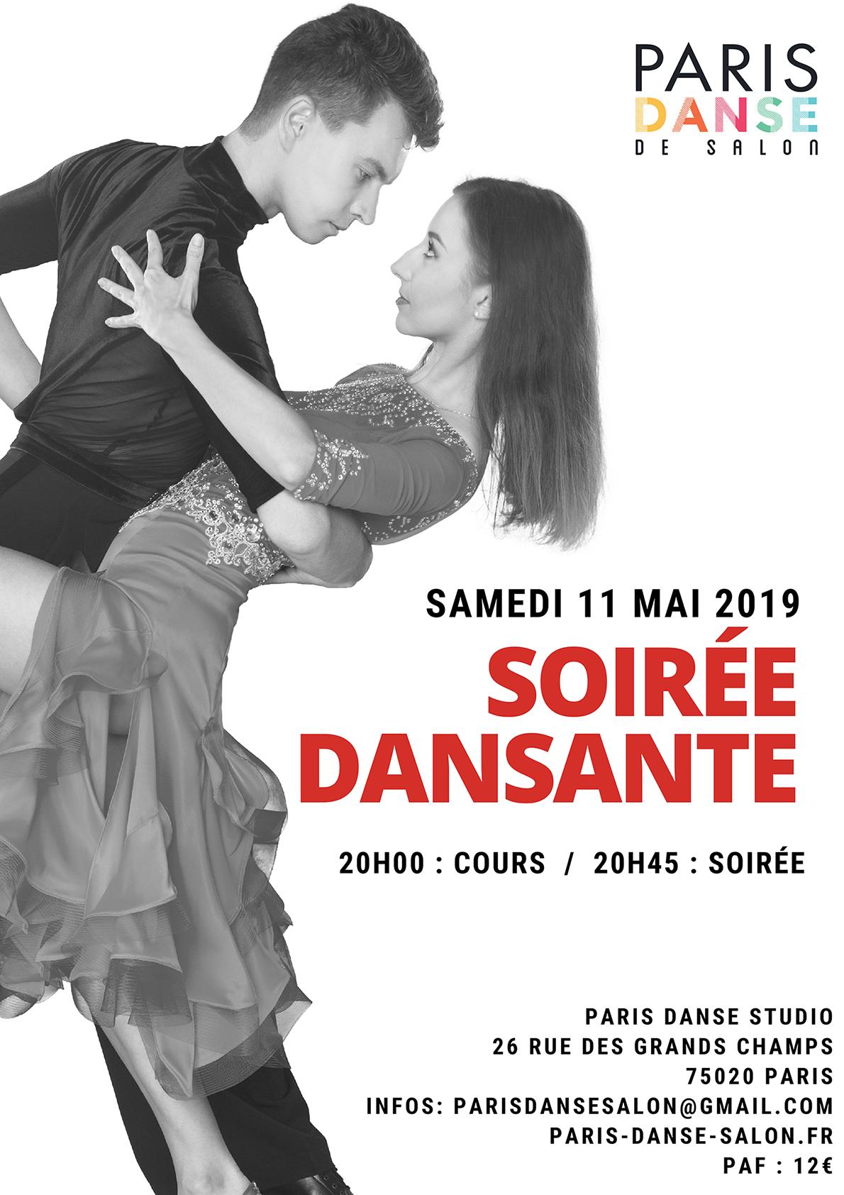 soirée dansante mai 2019